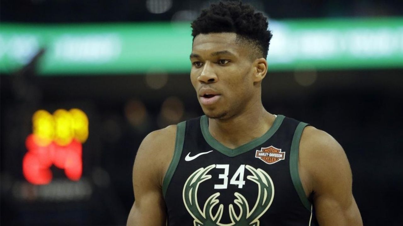 Giannis Antetokounmpo told me I made him cry