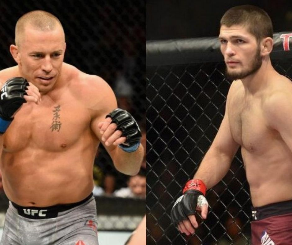 """GSP Says """"Khabib is the Best Fighter...."""" and Exhibits a Bird's-Eye View Of The Potential Fight"""