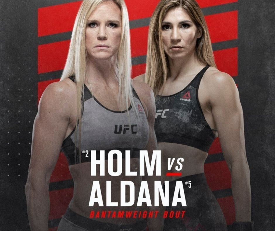 Holly Holm Vs. Irene Aldana is set for another go, this time on October 3. The match was previously  the headliner of  UFC Vegas 5.
