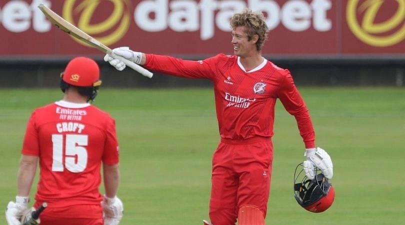 Keaton Jennings T20 century: Watch Lancashire batsman's maiden hundred propels team to victory in T20 Blast