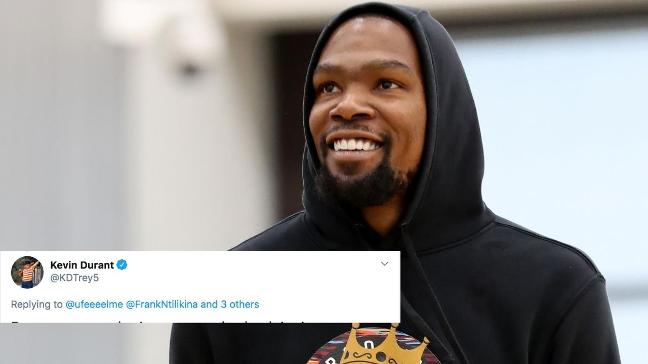 Kevin Durant responds to Zoe Creator