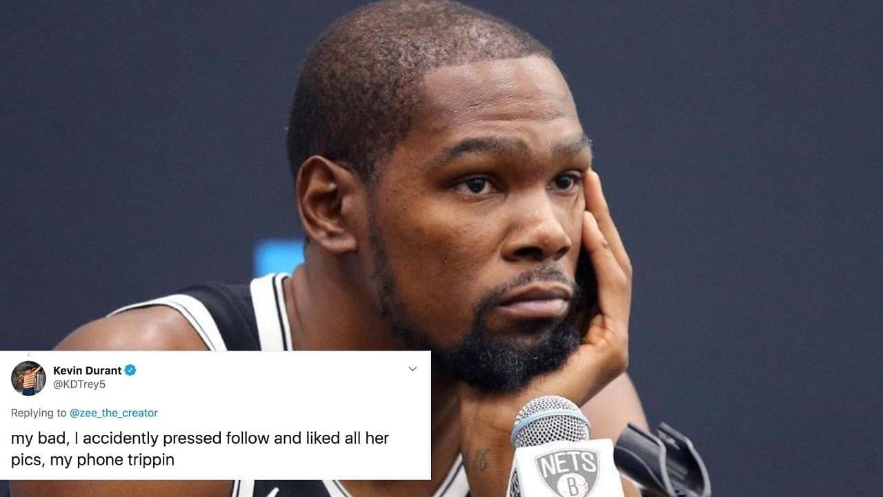 Kevin Durant follows fan's girlfriend on twitter