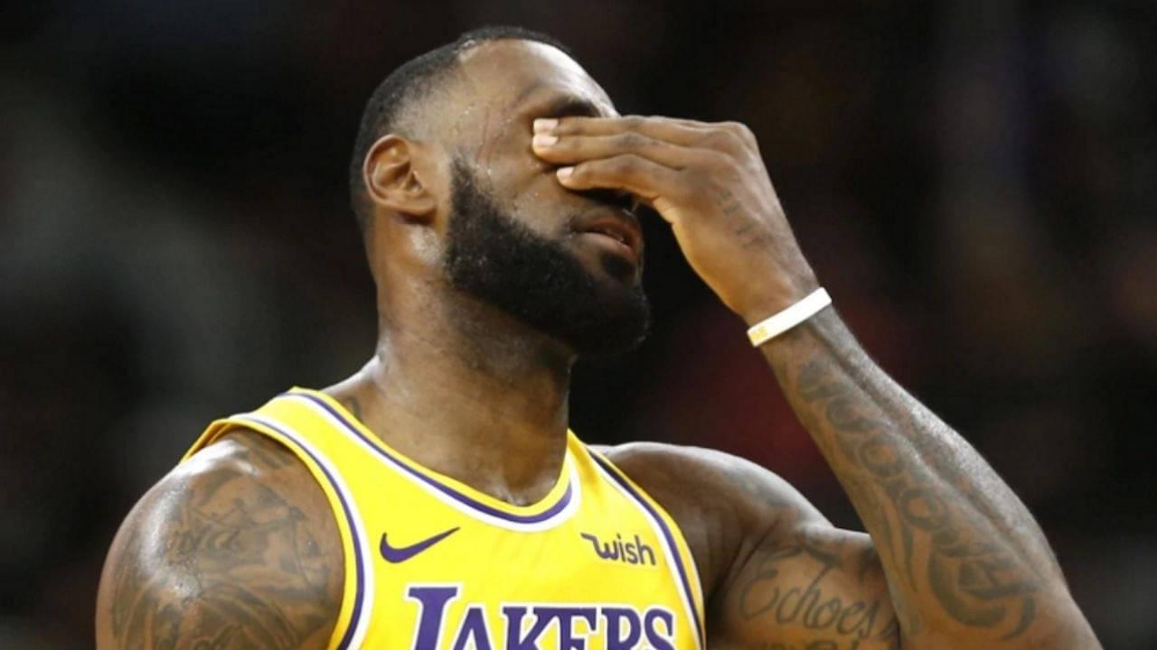 Lakers and LeBron James shooting