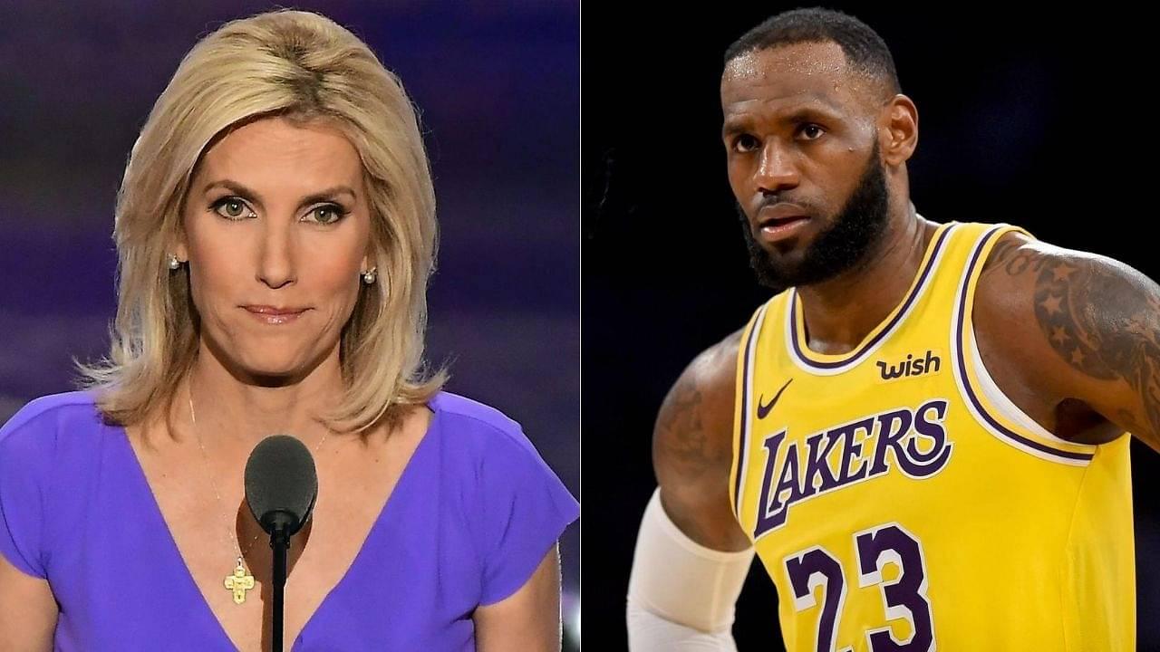 Laura Ingraham mocks LeBron James