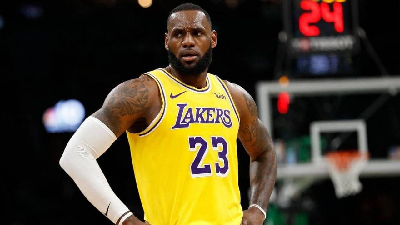 NBA Season in Jeopardy LeBron James