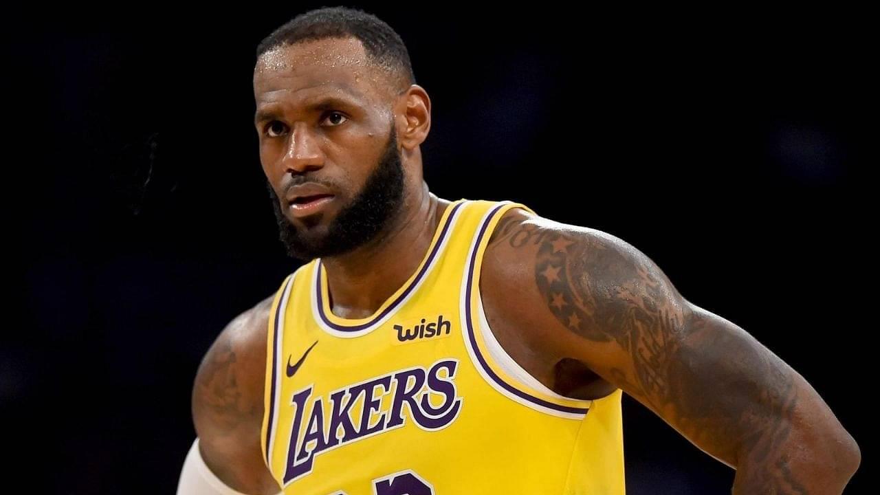 LeBron James annoyed with Milwaukee Bucks