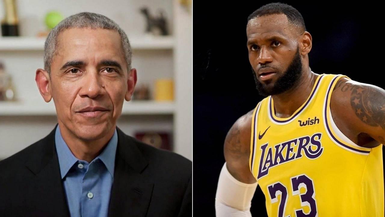 LeBron James on Barack Obama