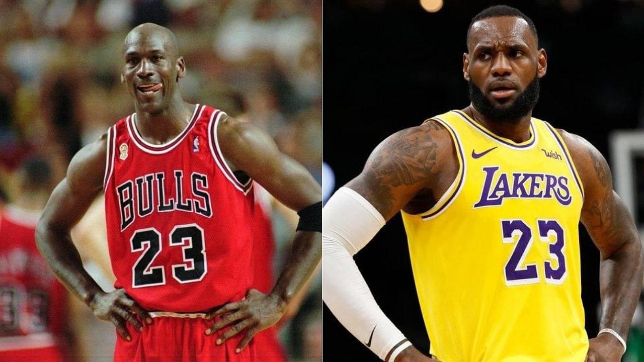 LeBron James over Michael Jordan GOAT