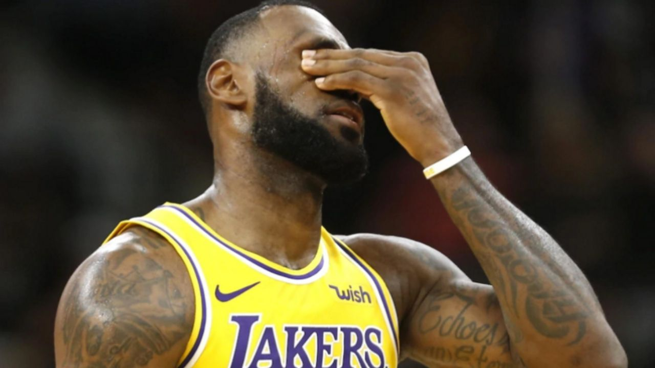 LeBron James technical vs Thunder