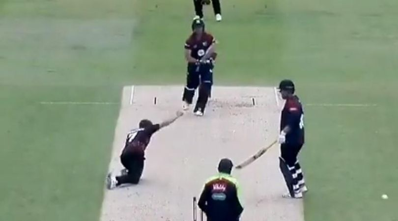 Richard Levi run-out vs Somerset: Watch Craig Overton runs out Northamptonshire batsman in unusual manner in T20 Blast
