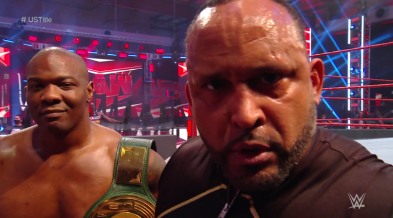 MVP Challenges Apollo Crews for the United States Championship at SummerSlam