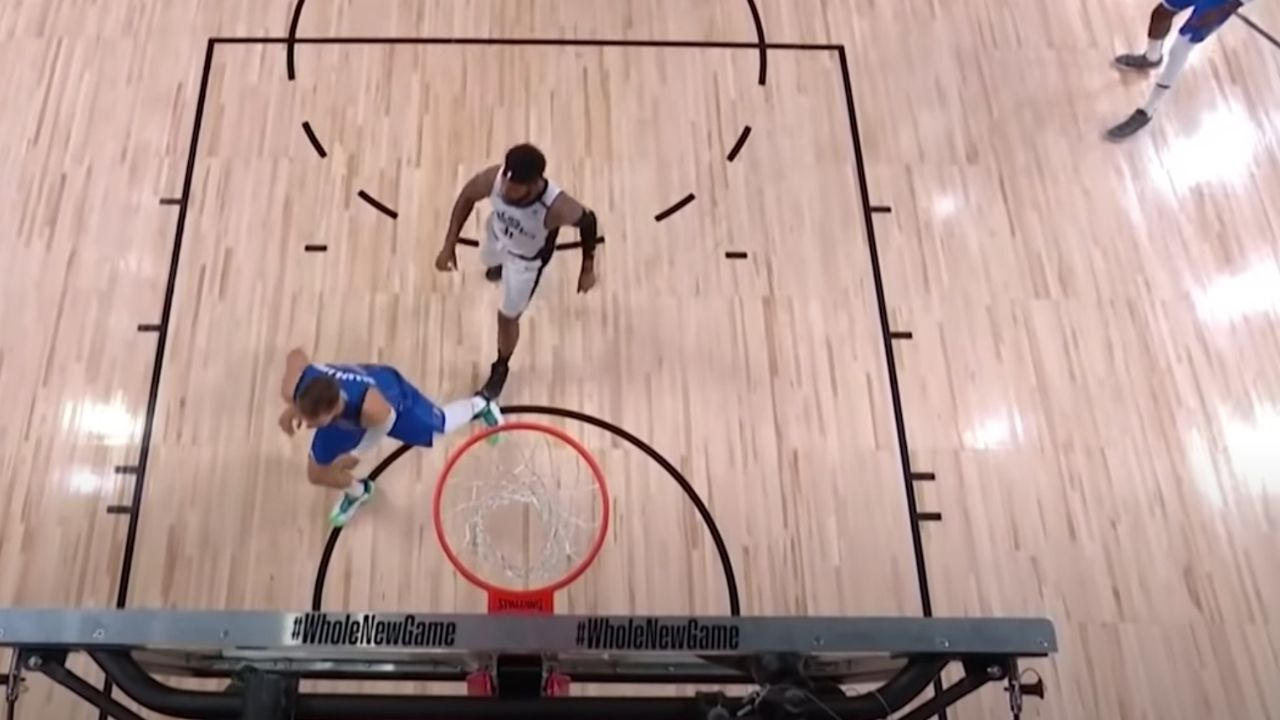 Marcus Morris purposely step on Luka Doncic's injured ankle
