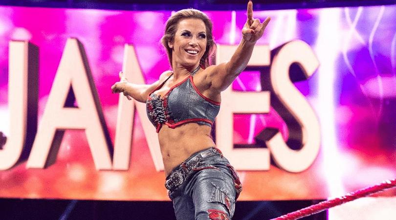 Mickey James will make her return on WWE RAW tonight