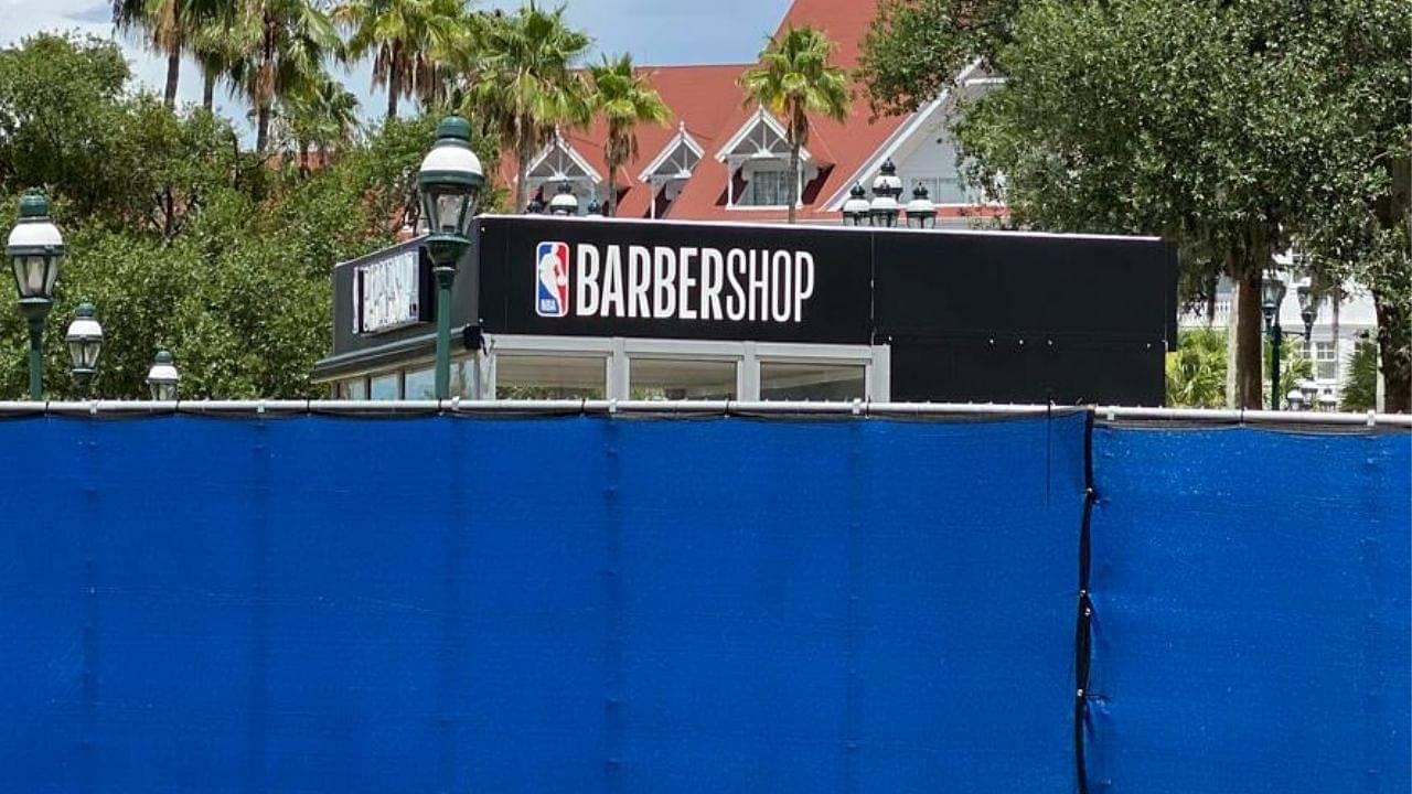 NBA Bubble Barbershop