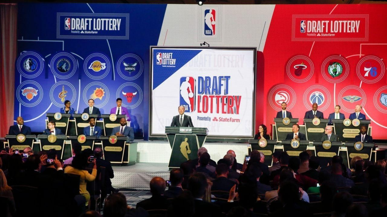 How does NBA Draft lottery work