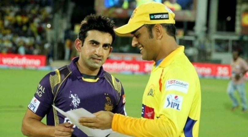 """""""Opportunity for MS Dhoni to bat at No. 3"""": Gautam Gambhir wants Dhoni to replace Suresh Raina in CSK Playing XI"""
