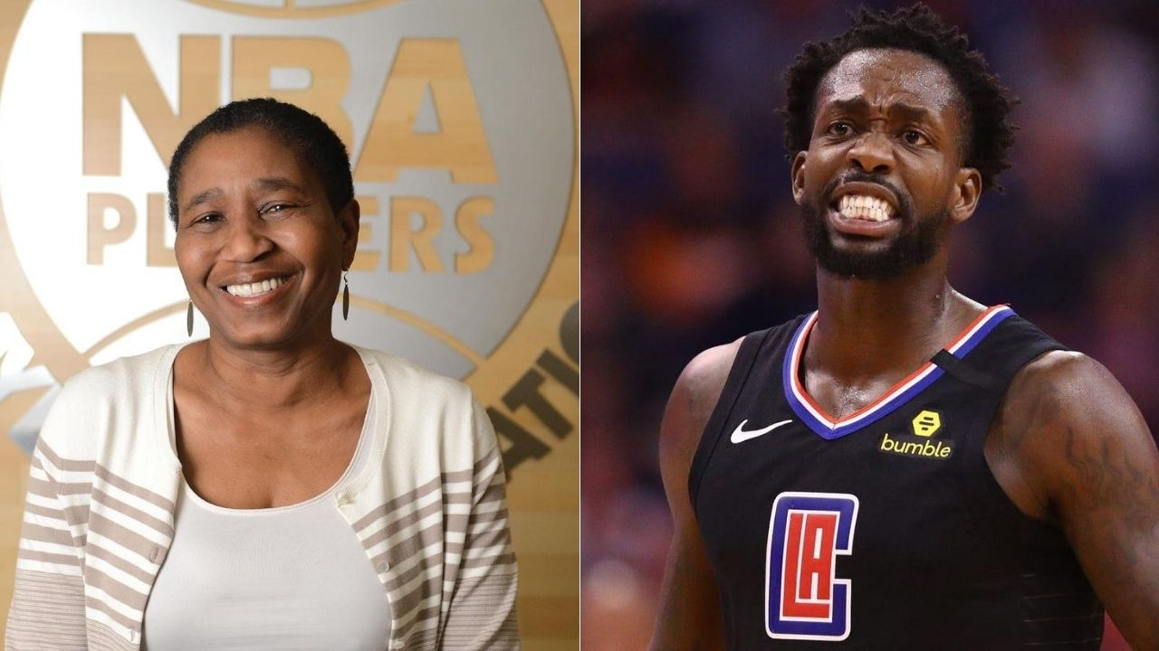 Pat Beverley and Michele Roberts