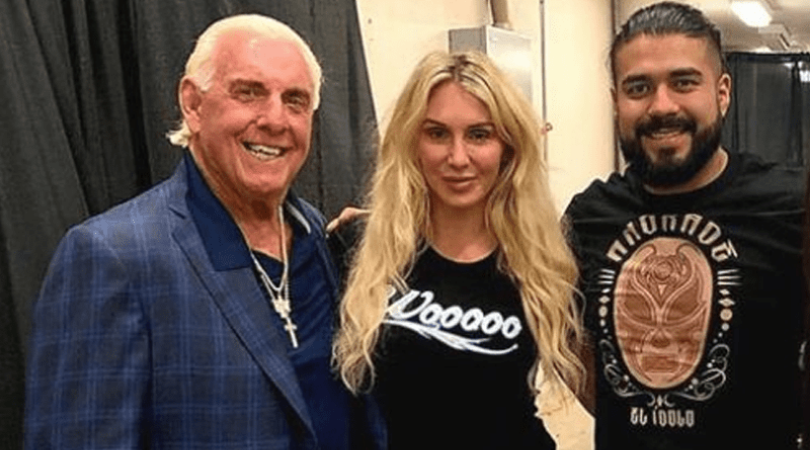 Ric Flair opens up on future son in law Andrade