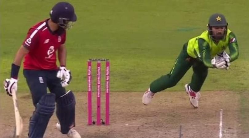 Mohammad Rizwan catch vs England: Watch Pakistani wicket-keeper's superb grab to dismiss Moeen Ali in Old Trafford T20I