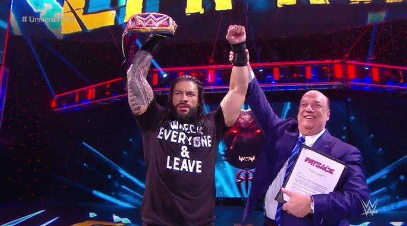 Roman Reigns reclaims Universal Championship at WWE Payback