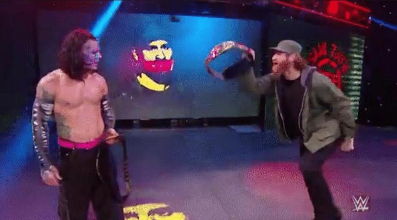Sami Zayn makes surprise WWE return!