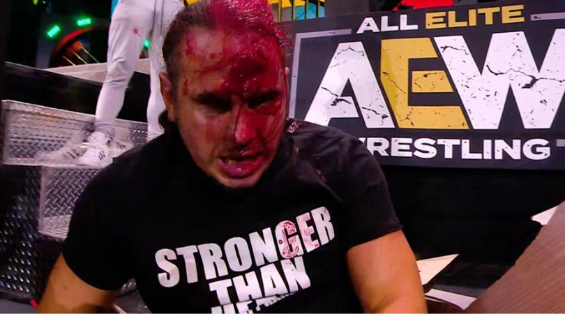 Sammy Guevara has backstage heat for legitimately for injuring Matt Hardy