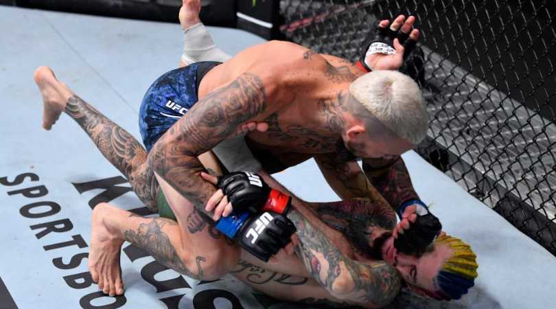 Sean O'Malley loses to Marlon Vera in first round at UFC 252 after his ankle gives out