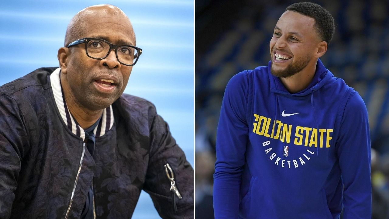Steph Curry tweets to Kenny Smith