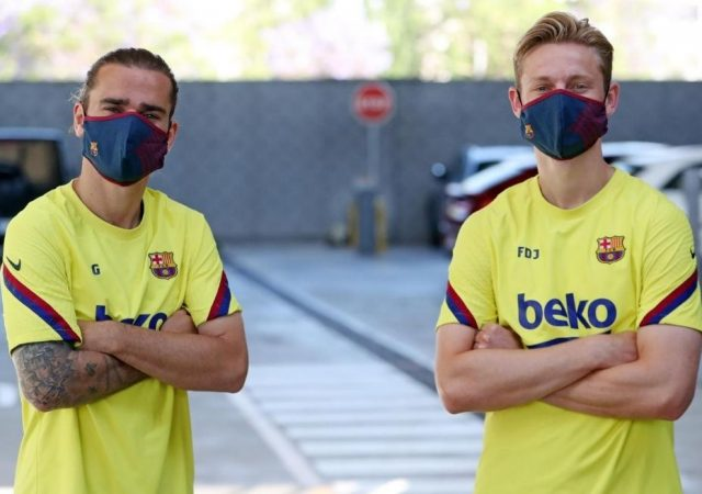 Barcelona Face Mask: Where to buy official FC Barcelona face masks?