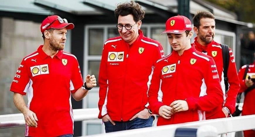 Sebastian Vettel claims Ferrari not listening to him, Mattia Binoto snubs accusations