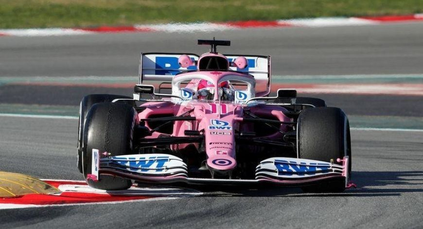 Racing Point receives reprimand from FIA for using same brake ducts