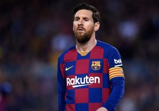 """""""Will take appropriate legal action against the newspaper El Mundo"""": Barcelona Lash Out After Details Of Messi's 492 Million Pound Contract Were Leaked"""