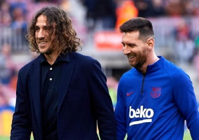 Carles Puyol bids farewell to Lionel Messi as player demands departure