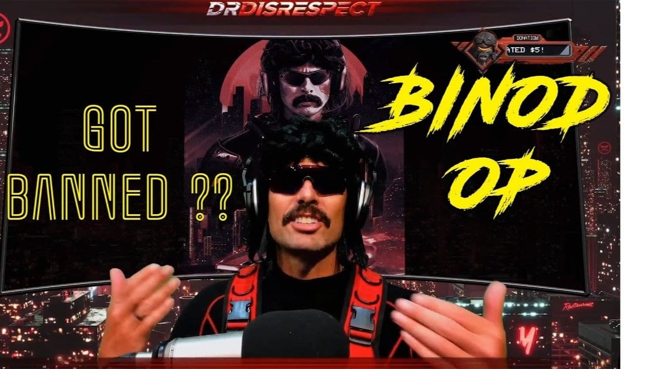 'What is Binod', Dr. Disrespect reacts to Binod meme while Live Streaming Rogue Company