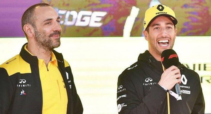"""I wouldn't be cruel""- Daniel Ricciardo speaks on tattoo bet with Cyril Abiteboul"