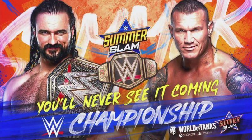 WWE SummerSlam Rumors Is the WWE planning a huge swerve for top Championship match
