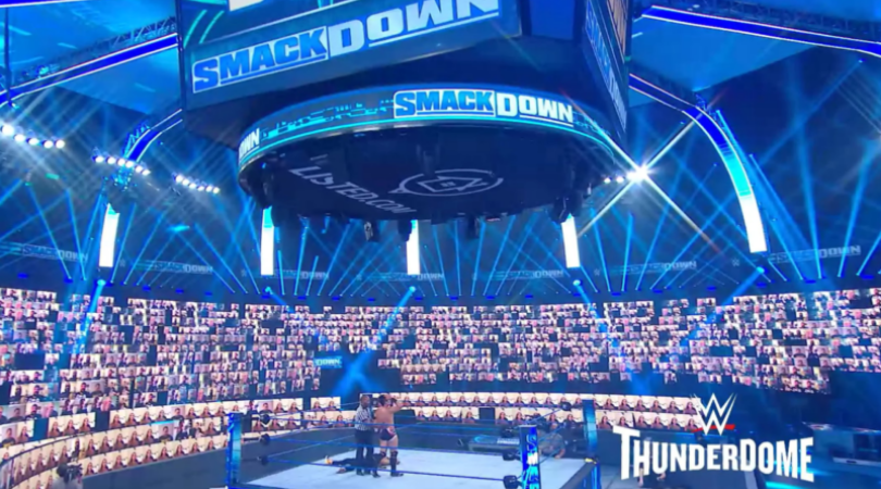 WWE Thunderdome sign up How to be a WWE Virtual fan
