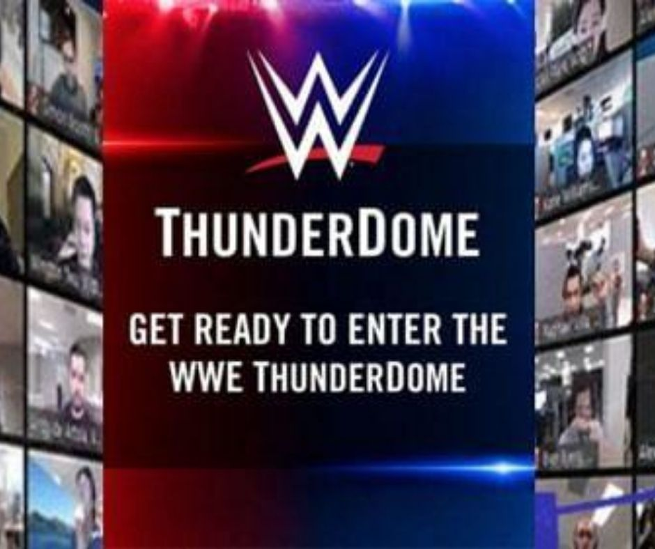 WWE ThunderDome: The Virtual Interactive Experience That Will Leapfrog NBA's Attempt At Virtual Fans