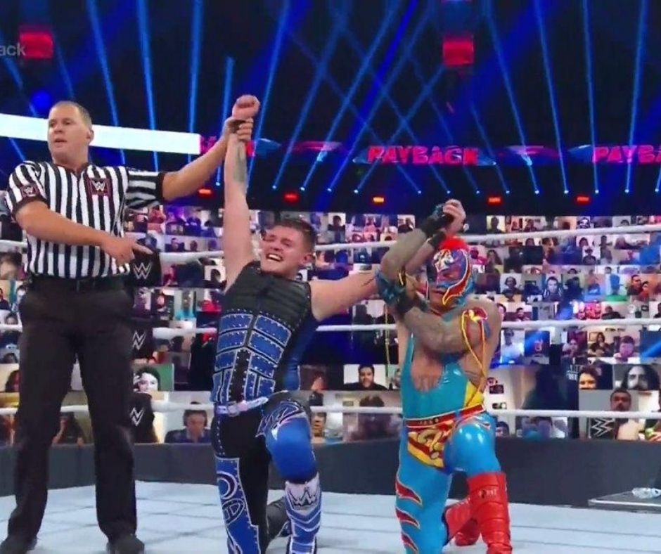 Dominick and Rey Mysterio Finally Got their Payback Over Seth Rollins and Disciple Murphy