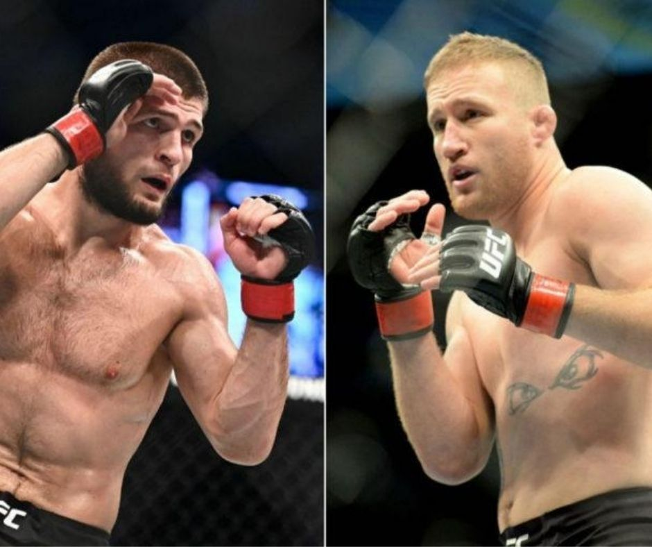 Khabib Nurmagomedov Recollects The Time When Justin Gaethje Came To His Aid
