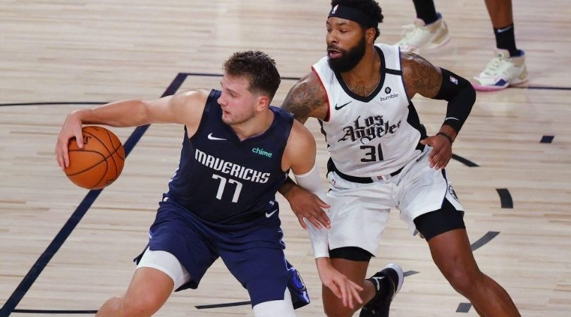 """""""Cry me a river. Clips in 6""""- Marcus Morris mocks Luka Doncic on Instagram for whining on his flagrant foul"""