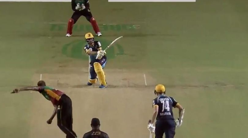 Rashid Khan CPL six: Barbados Tridents' player hits astonishing six off Alzarri Joseph in CPL 2020
