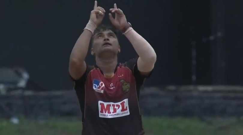 Pravin Tambe CPL debut: Watch 48-year old Indian spinner picks maiden wicket in Caribbean Premier League