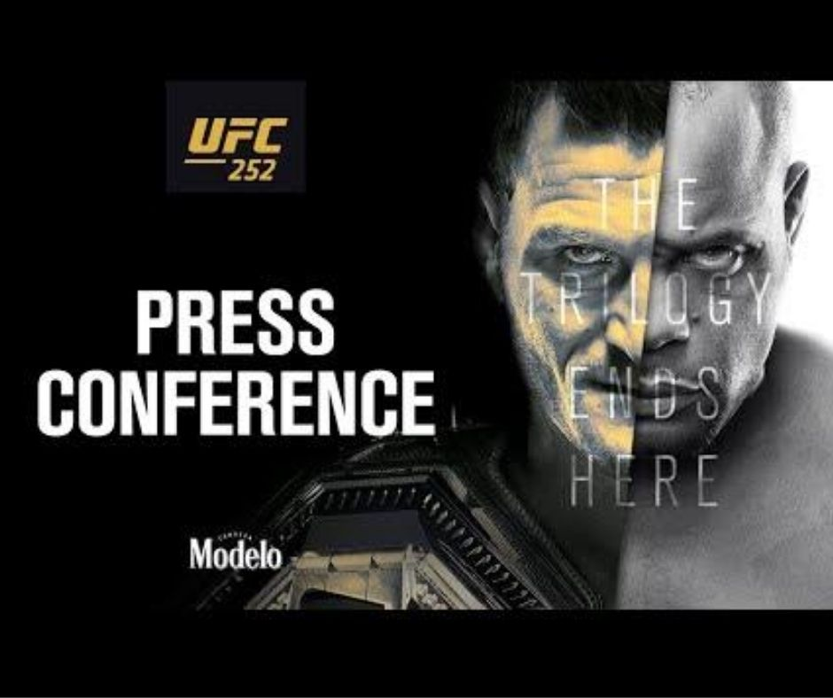 UFC 252 Pre-Fight-Press Conference: Date, Time, and Streaming Details