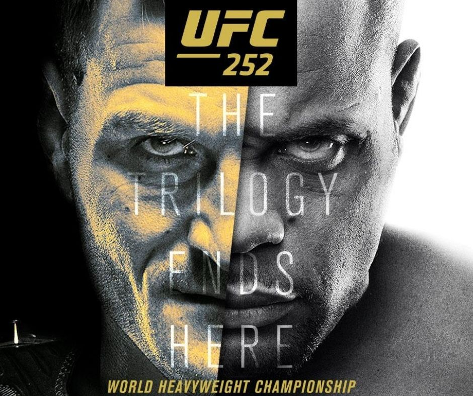 UFC 252 Fight Card: Full Preliminary and Main Fight Card