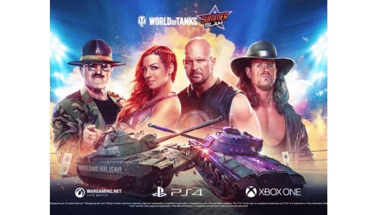 World of Tanks: WWE SummerSlam Pass & Stone Cold Steve Austin 3:16 Tank