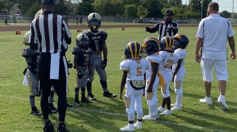 6-Year Old Football Player : Watch Biggest Six Year OId Dominating Field Like Mini-Derrick Henry
