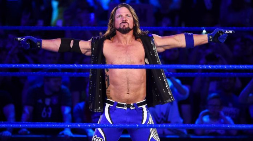 AJ Styles names WWE Legend he wants to face at Wrestlemania