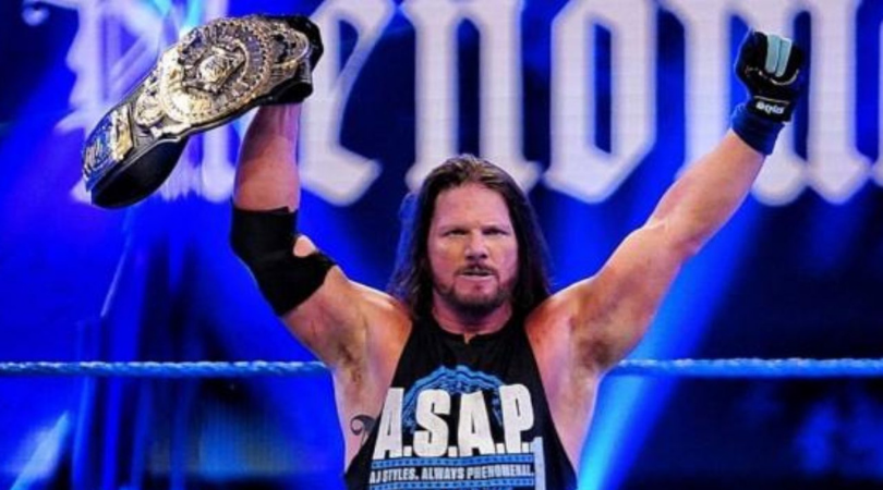 AJ Styles reveals why Vince McMahon has pushed him in WWE | The SportsRush
