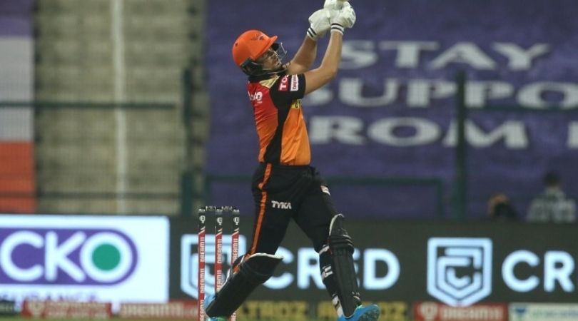 Abdul Samad IPL 2020: Watch SRH debutant announces himself with six off Anrich Nortje